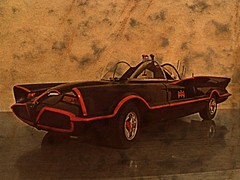 Adam West Batmobile (Digital_Third_Eye) Tags: classic vintage toy dc batman tvshow 1960s dccomics collectable 2010 diecast adamwest 118scale originalbatmobile digitalthirdeye