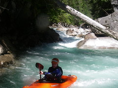 kayak white water introductory and  improvers courses