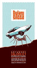 DS-poster (frogers) Tags: show music dylan car illustration poster typography design concert graphic ant sneed