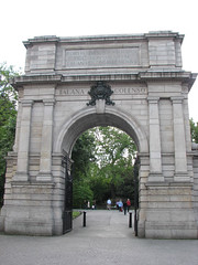 Gate to St. Stephen's Green