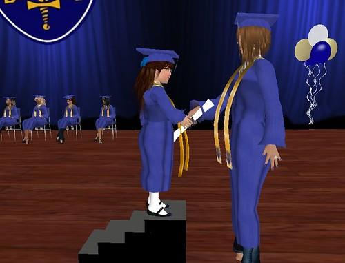 Getting my diploma