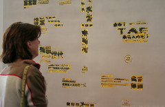 documenta 12 | Zheng Guogu / Computer is controlling by pig's brain No.82 | 2006 | Aue-Pavillon