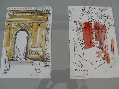 Cards from Paris-exhibition
