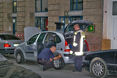 Gasaustritt aus PKW Welritzstraße 18.06.07