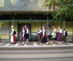 National costumes, Finland (Anna Amnell) Tags: summer helsinki traditionalcostume kes kansallispuku folkdress nationalcostumes