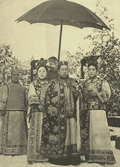 Empress Cixi  (ambrett) Tags: china vintage  publicdomain qing cixi  dowagerempress