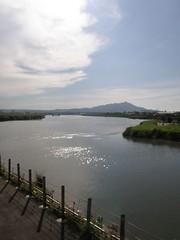 19.從基隆河遠眺觀音山 (1)