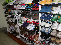 The Wall of Fame #1 (Mindubonline) Tags: vintage shoes sneakers nike og sneaker kicks airmax dunk airstab mindub mindubonline