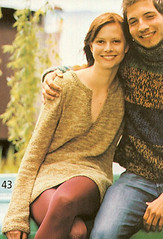 Rebecca No 26 - Sweater with Side Slits at Little Knits