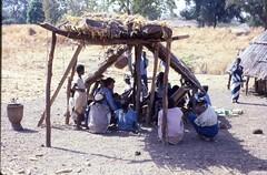 Medical research at Ndebu, Southeast Sngal (West Africa) (gbaku) Tags: africa west town village african villages huts westafrica afrika senegal anthropologie shelter towns anthropology shelters africain afrique fulani ethnography ethnology africaine westafrican peul ethnologie fula fulbe peuls afrikas ndebu