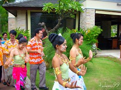 Songkran Dance at Le Meridien Khao Lak Beach & Spa Resort, Thailand