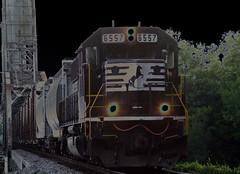 Norfolk Southern 6557 (ravensong75) Tags: railroad train norfolk alabama jackson southern solerize norfolksouthernrailroad