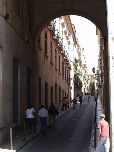 Lisboa - Rua da Rosa