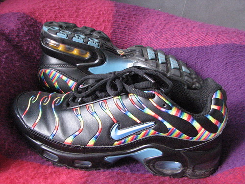 buy popular 47581 40ffd My Rare Trainers - Nike Air Max TN Black Rainbow - a photo o