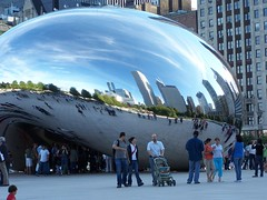100_2847 (kthypryn) Tags: trip vacation chicago art awesome milleniumpark cloudgate fascinating silverpill
