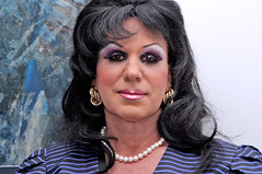 Close up (Christine Fantasy) Tags: feminine makeup christine fantasy transvestite crossdresser transsexual shemale