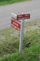 Sign from Trail at Summerdale Road
