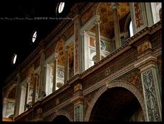 The upper part of  Convent Hall (Gloria Chang) Tags: italy milan church milano chiesa fresco  affresco    sanmaurizioalmonasteromaggiore