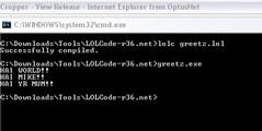 run-greetz (Wolfbyte22) Tags: lolcode