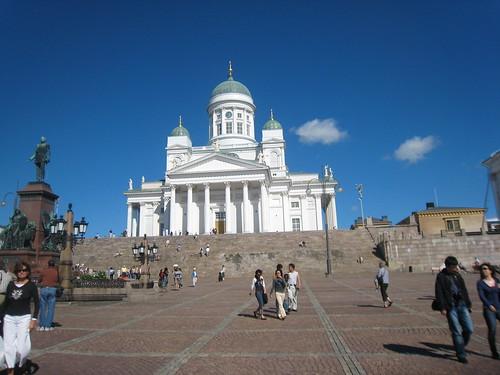 Helsinki y su catedral ortodoxa blanca