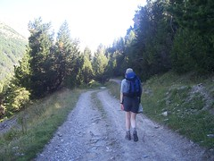 Walking along the GR 58 A