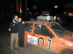 Mongol Rally participants, General Lee!