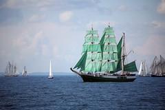 Alexander von Humbolt (Bruno Girin) Tags: green race baltic becks tallships barque humbolt alexandervonhumbolt tallshipsracesbaltic2007
