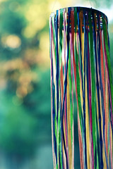 (*Cinnamon) Tags: party garden bokeh nikond70s ribbon nikkor windsock damncool 50mmf14d colorsinthewind bokehwhores