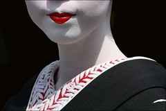 L I P S : Gion (mboogiedown) Tags: travel red white black beauty japan mystery neck asian japanese interestingness kyoto asia traditional culture lips explore maiko geiko geisha kimono gion lipstick tradition kansai allure interestingness22 i500 oshiroi kosen kobu discoverkyoto anawesomeshot aplusphoto kuchibeni