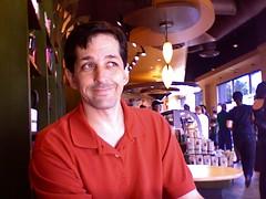 Michael Fechter in Starbucks