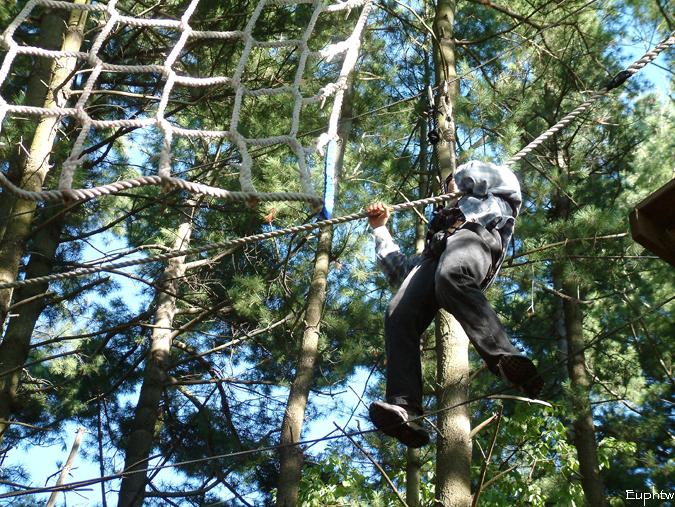 High rope challenge 010