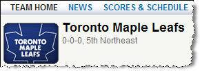 yahoo leafs prediction