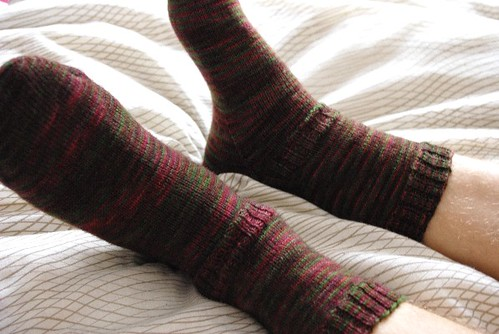 Fleece Artist Trail Socks