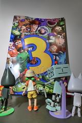 Toy Story (132/365) (_SuperV) Tags: poster toys suzuki kuro toro dokodemoissyo yotsuba 365days revoltech toystory3 365toyproject