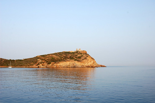 greece - sounion - sunset cruise