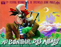Affiche Festival Au Bonheur des Momes-2008