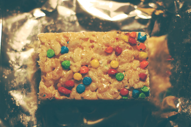 Day 78 - Rainbow Rice Krispies