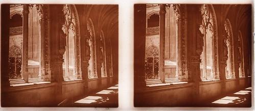Claustro de San Juan de los Reyes en los años 20. Fotografía de Ángel del Campo Cerdán