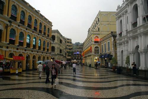 A Macau street