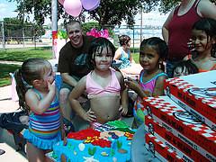 Nat and her Cake (emilyscakes) Tags: birthday cake little natalia mermaid