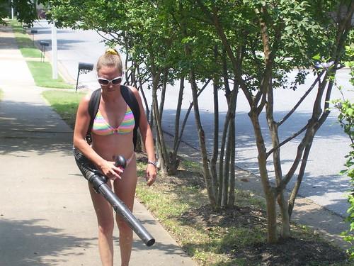 Bikini lawn service