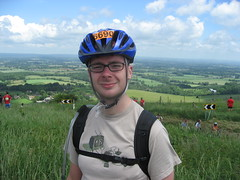 At the top of the Beacon (Wrighty) Tags: brighton bikeride wrighty bighill beatsteve 6690