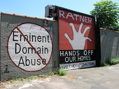 Eminent Domain Gate And Wall