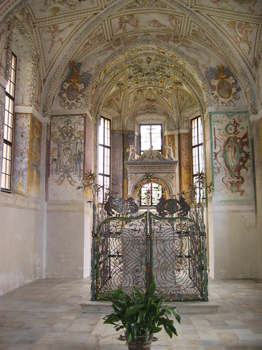 Telc castle chapel