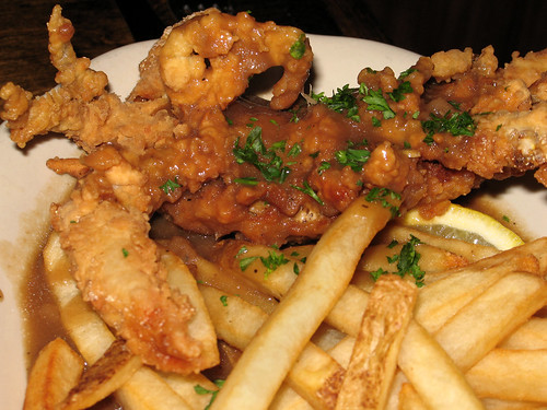 Fried Soft Shell Crab Meuniere