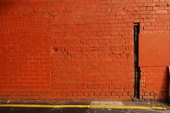 yellow stripe - black line - by badjonni