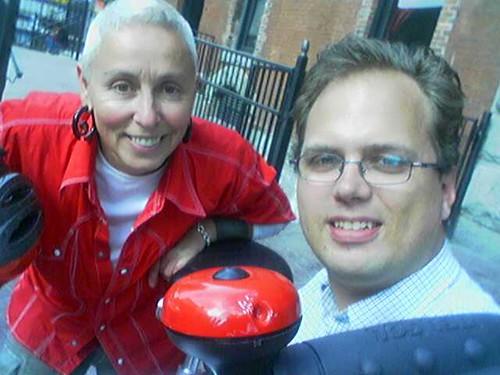 Handing Off My Vancity Bike Share to Sabina
