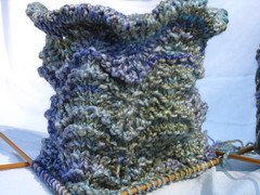 lacy scallops sock cuff