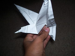 Flapping Eagle (ferretboy02) Tags: paper origami paperfolding