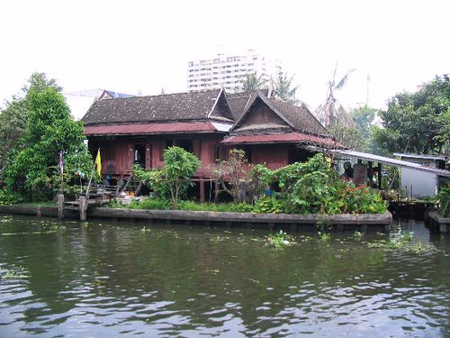 Old House on Klong Phrakanong